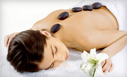 70- or 100-Minute Hot-Stone Massage at Amae Tranquility Massage (53% Off)